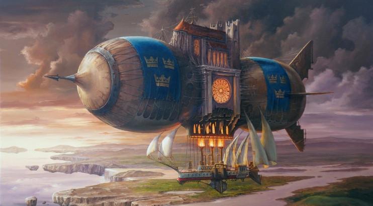 Hot air balloon castle - Jarosław Jaśnikowski
