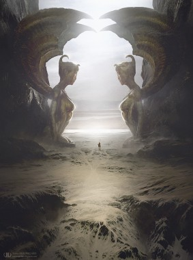 Tierno Beauregard - The two sphinxes