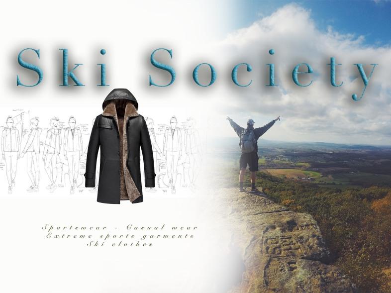 Ski society Web header