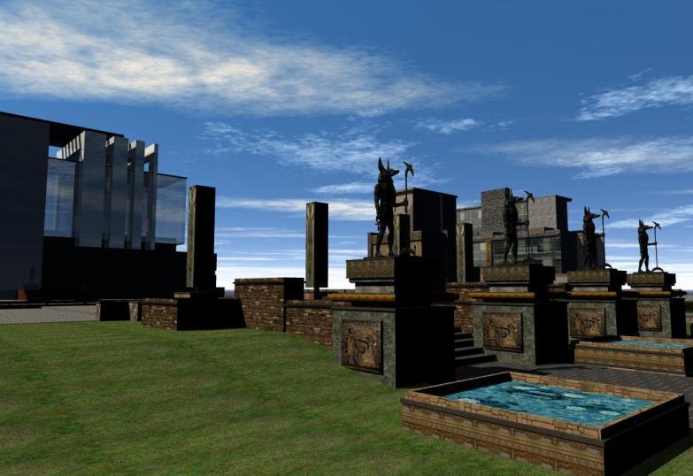 'Isle of Anubis' gardens - 5