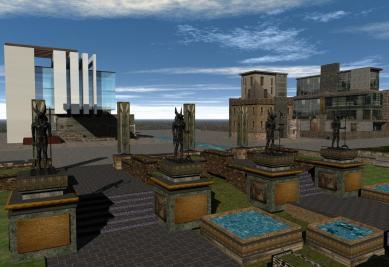 'Isle of Anubis' gardens - 4