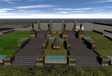 'Isle of Anubis' gardens - 8