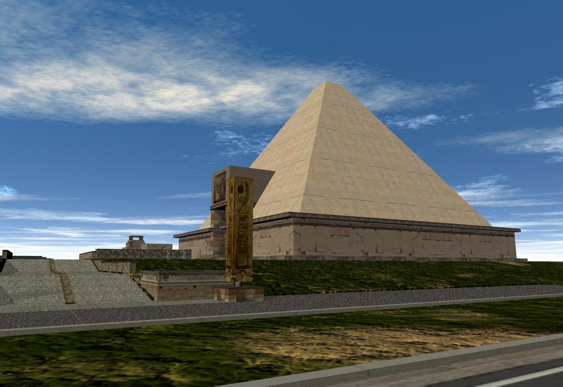 'Isle of Anubis' pyramid -4