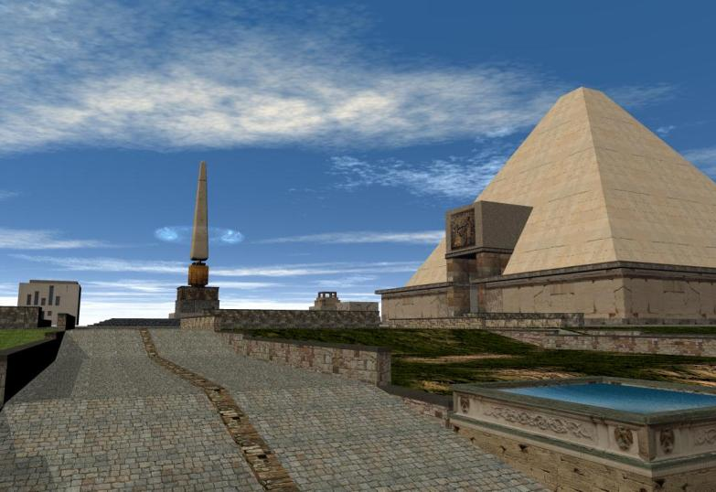 'Isle of Anubis' pyramid -1