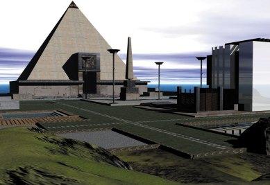 'Isle of Anubis' pyramid -2