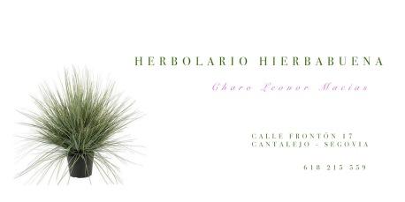 Herbolario Hierbabuena - Business cards & banners